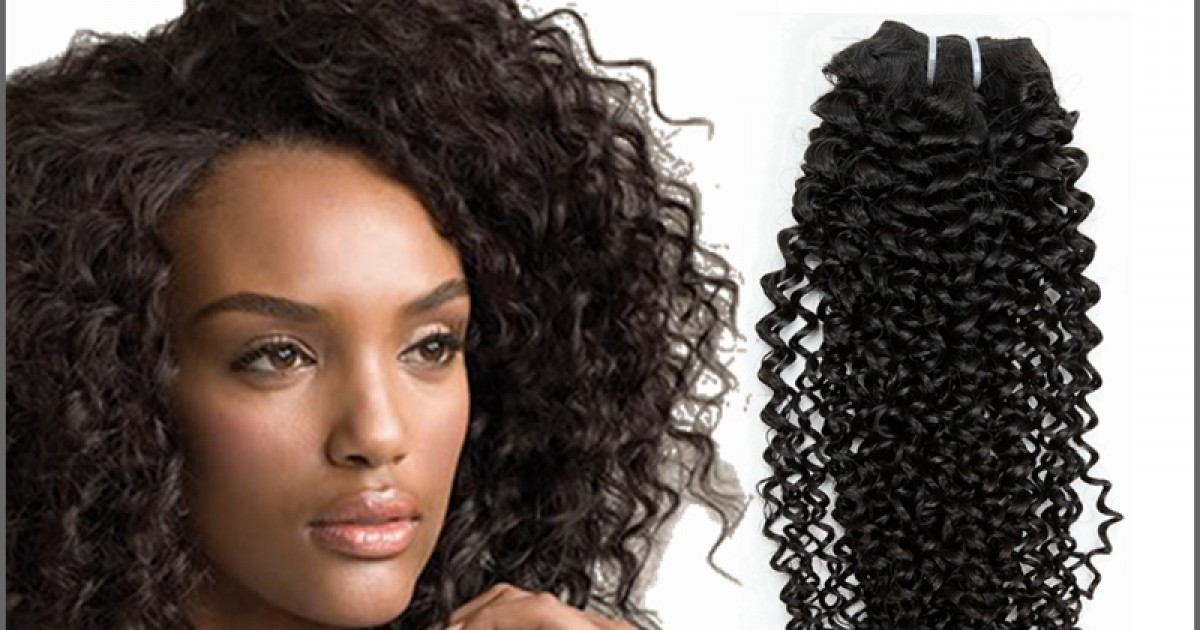 Afro Curly Virgin Hair Weave