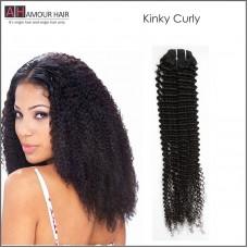 Kinky Curly Virgin Hair Weave